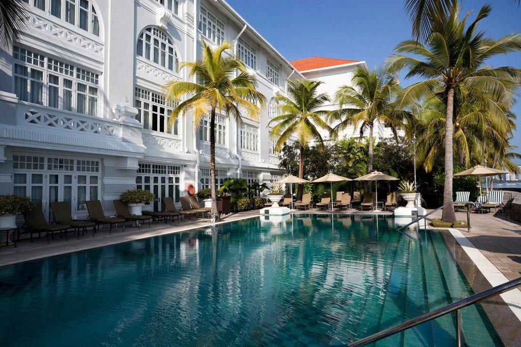 Hôtel sur l'ïle de Penang en Malaisie