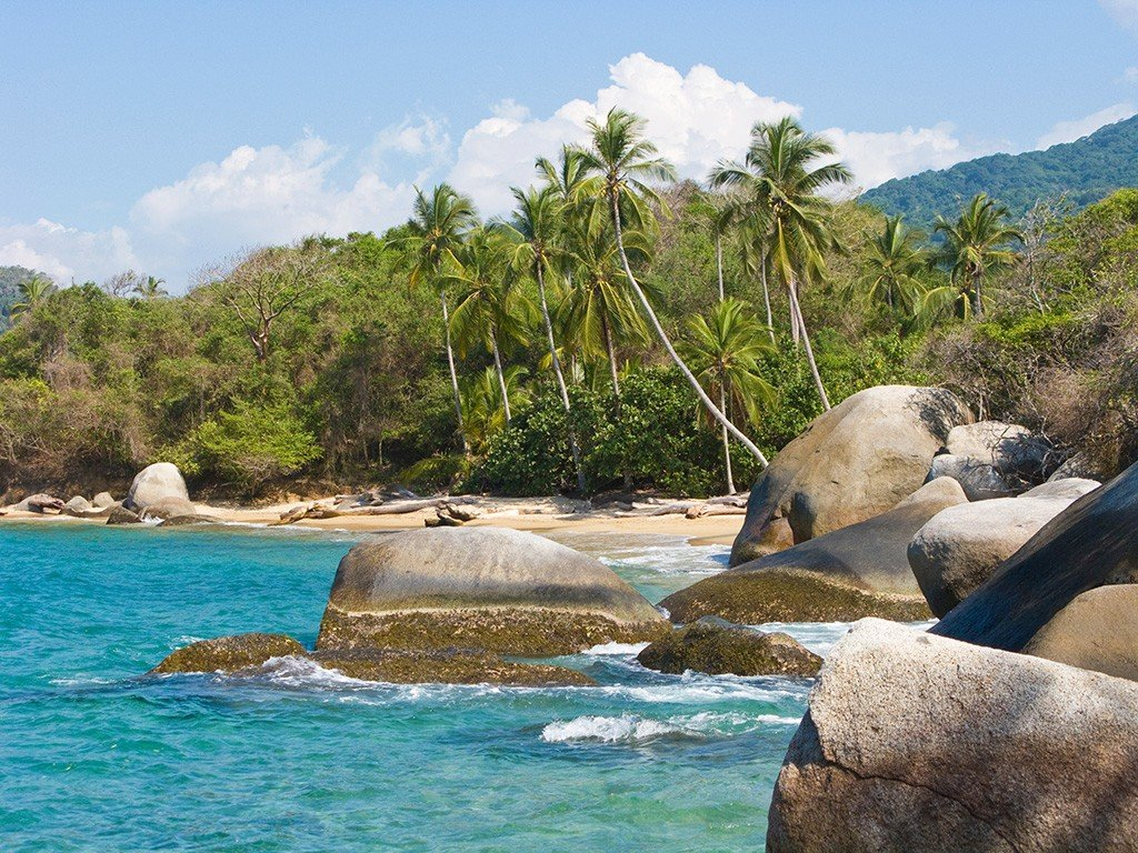 plage Colombie