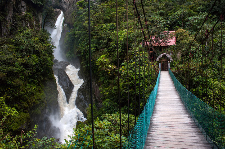 chute d'eau - Equateur