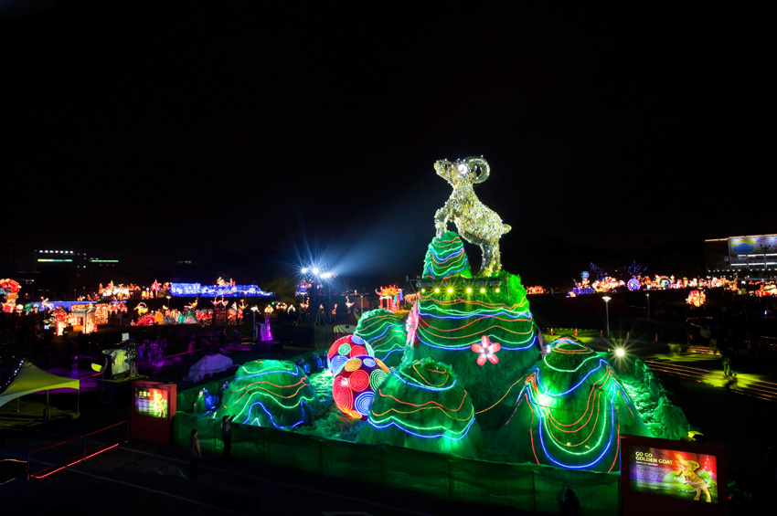 Festival des lanternes de Taipei