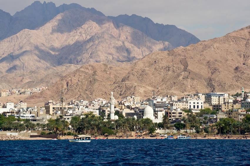 Aqaba, Mer Rouge