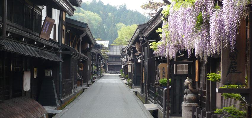Takayama au printemps
