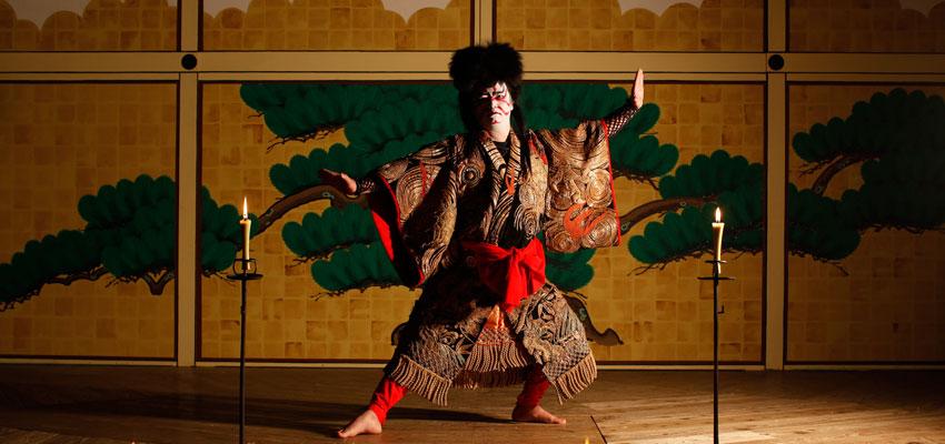 Spectacle traditionnel Kabuki