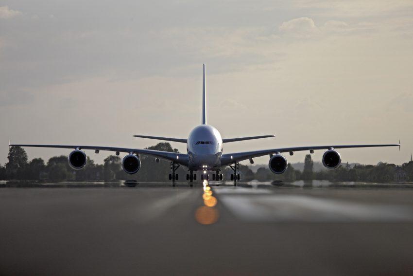 Avion Air France au décollage