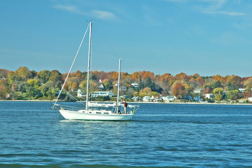Croisière dans la baie de Chesapeake