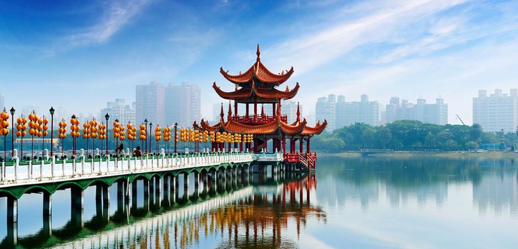 Taiwan : belle île en mer de Chine