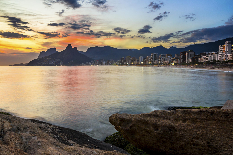 Pierre d'Arpoador à Rio de Janeiro