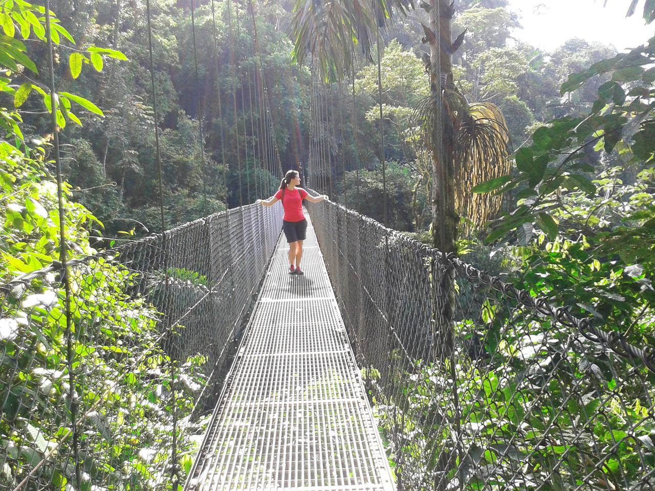 Pont suspendu à Arenal