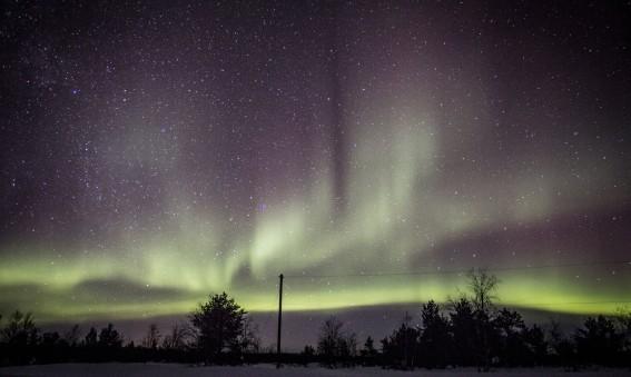 photo d'une aurore boréale