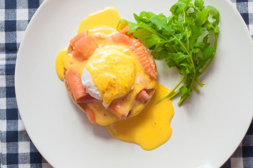 brunch Montréal - œuf bénédicte