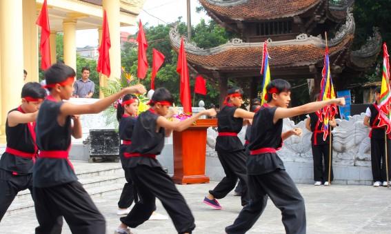 Ecole de Kung Fu au Vietnam
