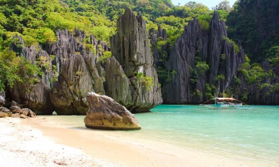 Plage paradisiaque - Philippines