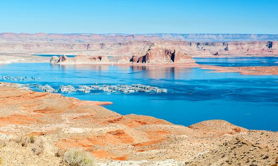 Lac Powell USA