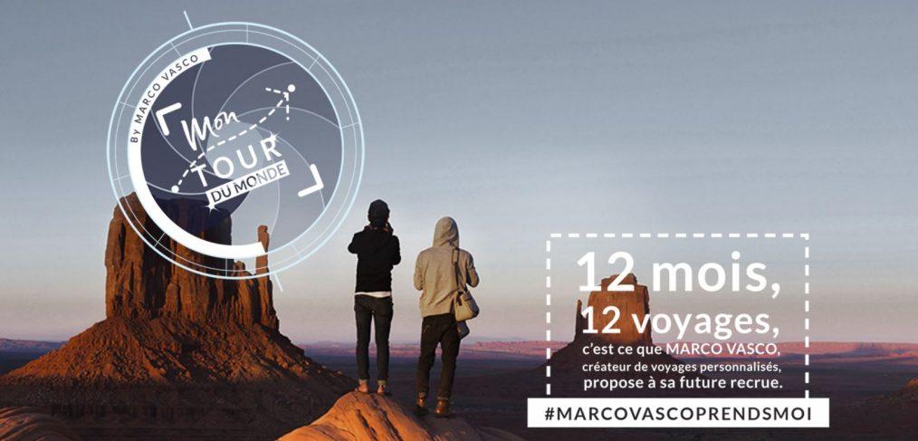 Tour du monde de Marco Vasco