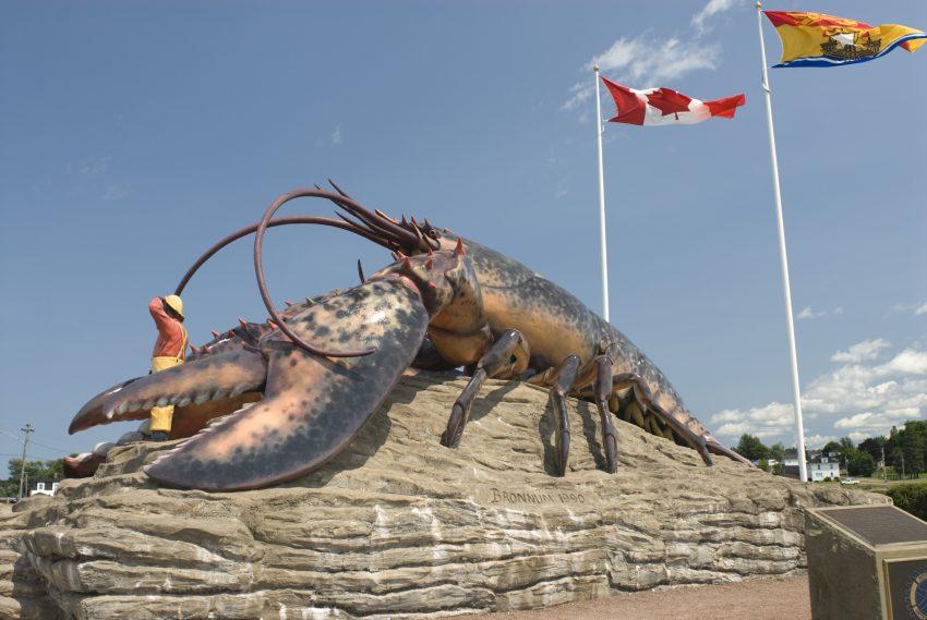 Homard géant - Shédiac - Crédit photo : Tourisme Nouveau Brunswick.