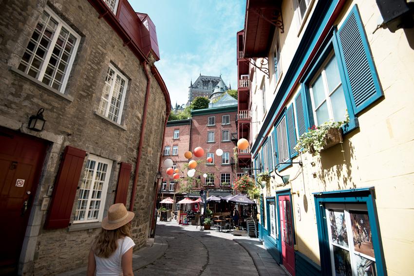 Crédit Photo: Vieux-Québec © Office du tourisme de Québec / J. Frenette